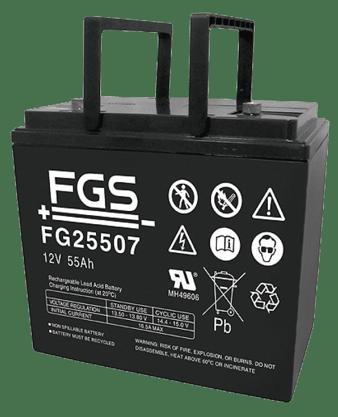 FGS Blyack. 12V/55Ah