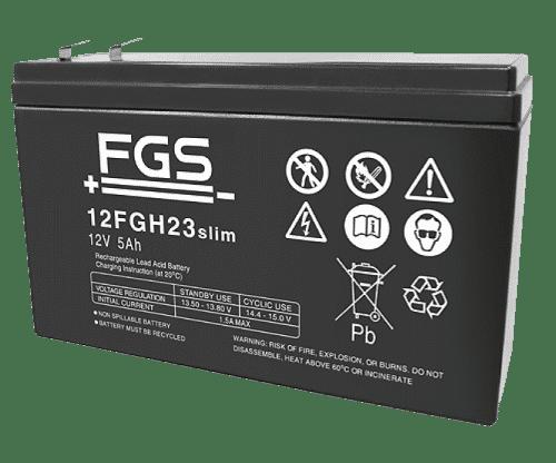 FGS Blyack 12V/5Ah slim