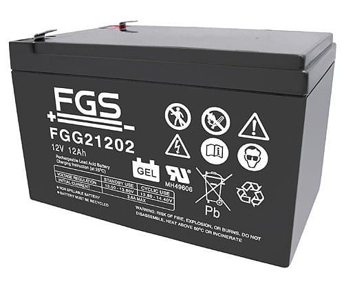 FGS Gelebatteri 12V/12Ah