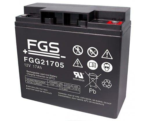 FGS Gelebatteri 12V/17 Ah