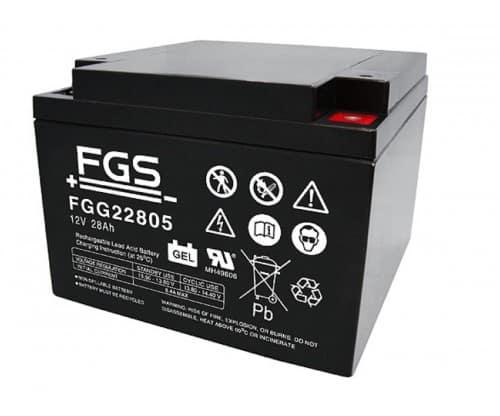 FGS Gelebatteri 12V/28Ah