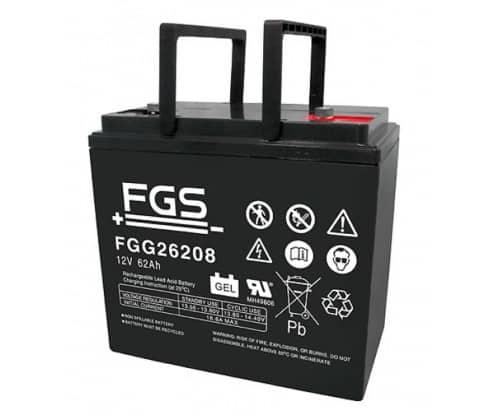 FGS Gelebatteri 12V/62Ah